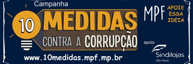 Sindilojas-SP entra na luta contra corrupção