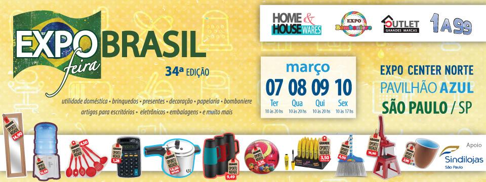 Feira Expo Brasil 34ª edição