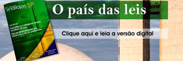 Revista Sindilojas SP edição de agosto