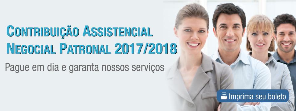 Contribuição Assistencial Negocial Patronal 2017/2018